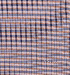雪纺 格子 色织 薄 女装 衬衫 连衣裙 80421-1