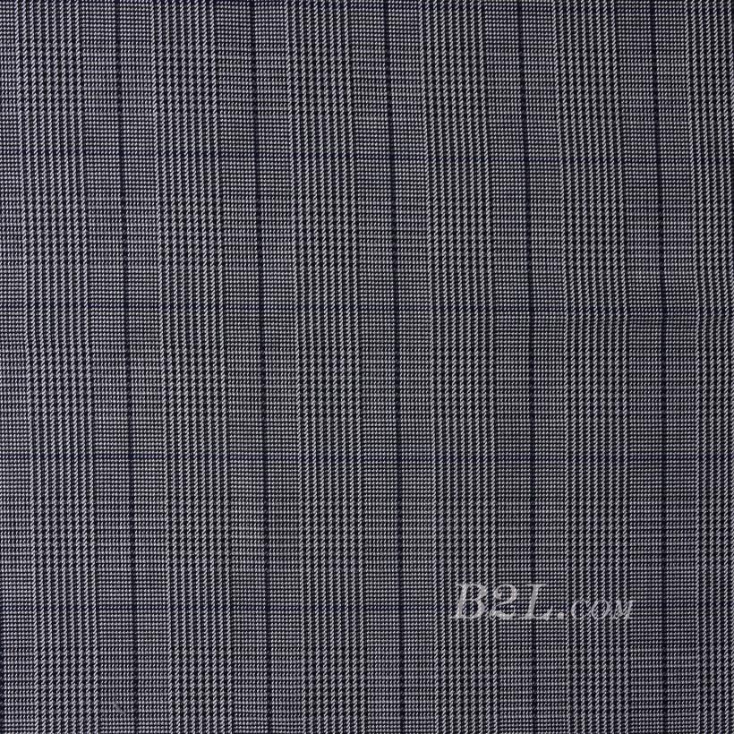 格子 微弹 色织 梭织 春秋冬 西装 外套 半裙 女装 80623-55