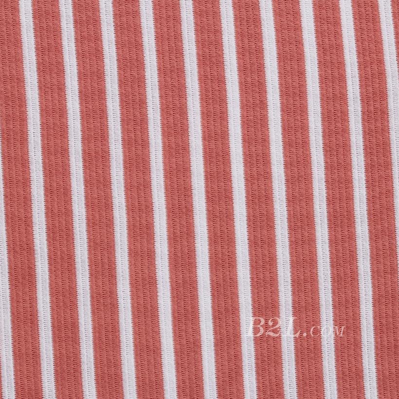 梯级条子 全涤 针织 双面 微弹 连衣裙 针织衫 打底衫 60324-37
