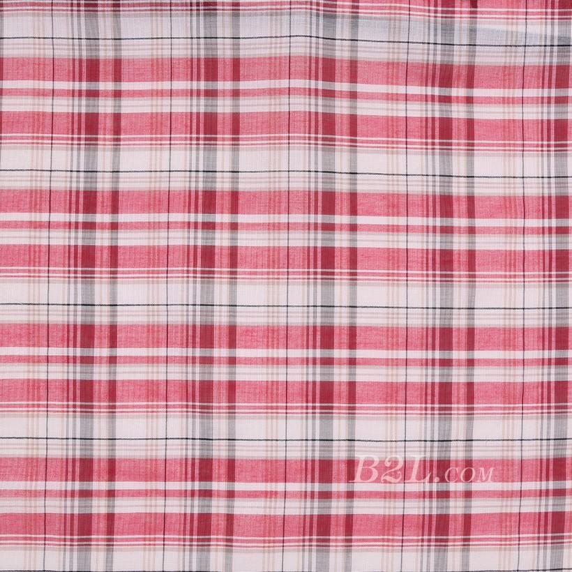 格子 棉感 色织 平纹 外套 衬衫 上衣 70622-15