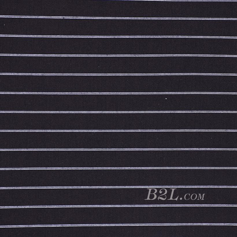 針織染色條紋面料-春秋冬款連衣裙休閑服面料60311-41