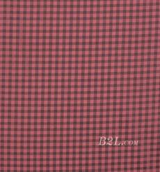 现货 梭织 色织 格子 几何 无弹 春秋 女装 连衣裙 外套 衬衫80102-12