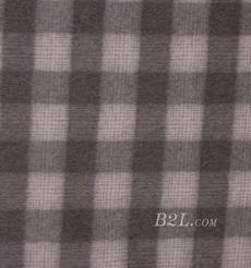毛纺 梭织 羊毛 格子 绒感  双面尼 厚 大衣 秋冬 女装 80322-15