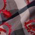格子 梭织 绣花 棉锦 色织 棉感 衬衫 连衣裙 女装 春秋 71113-15
