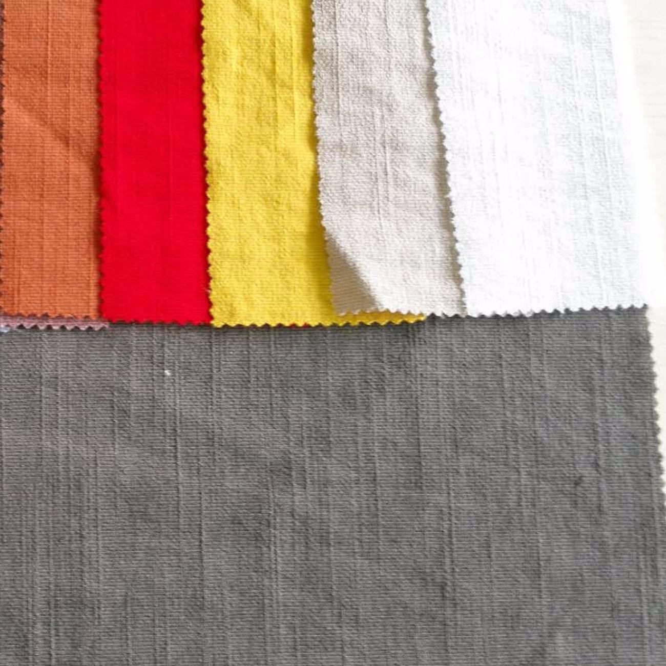 72%聚脂纤维16%粘胶2%氨纶混纺梭织染色布