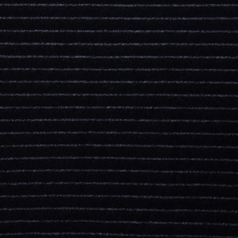 条纹 呢料 柔软 羊毛 大衣 外套 女装 期货 60803-49
