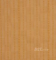 棉麻 梭織 條子 小提花 色織 低彈 棉感 春秋 連衣裙 短裙 80912-10