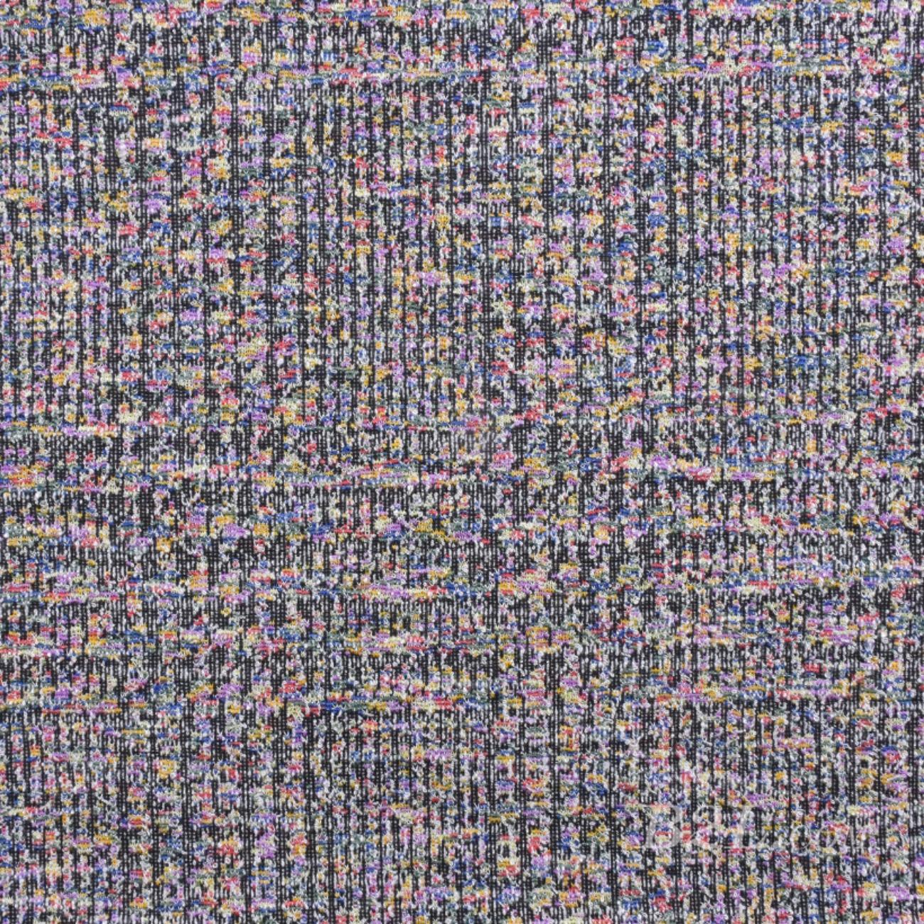 针织染色粗纺小香风面料-春秋冬款大衣外套连衣裙裤装面料Z750