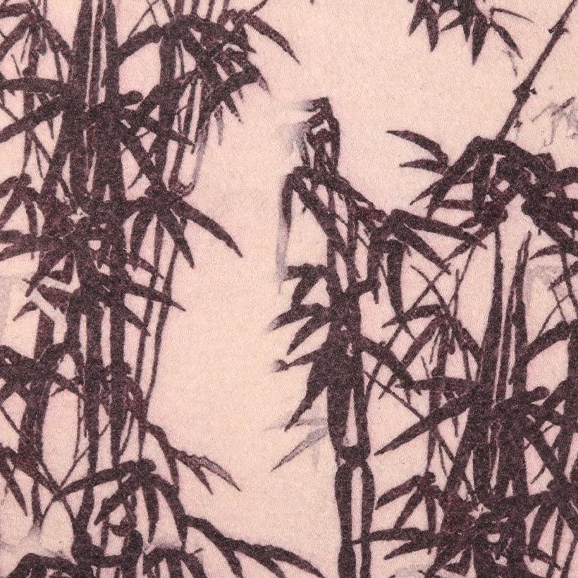竹林 呢料 柔软 羊毛 大衣 外套 女装 70410-39
