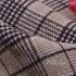 格子 呢料 柔软 羊毛 大衣 外套 女装 70623-15