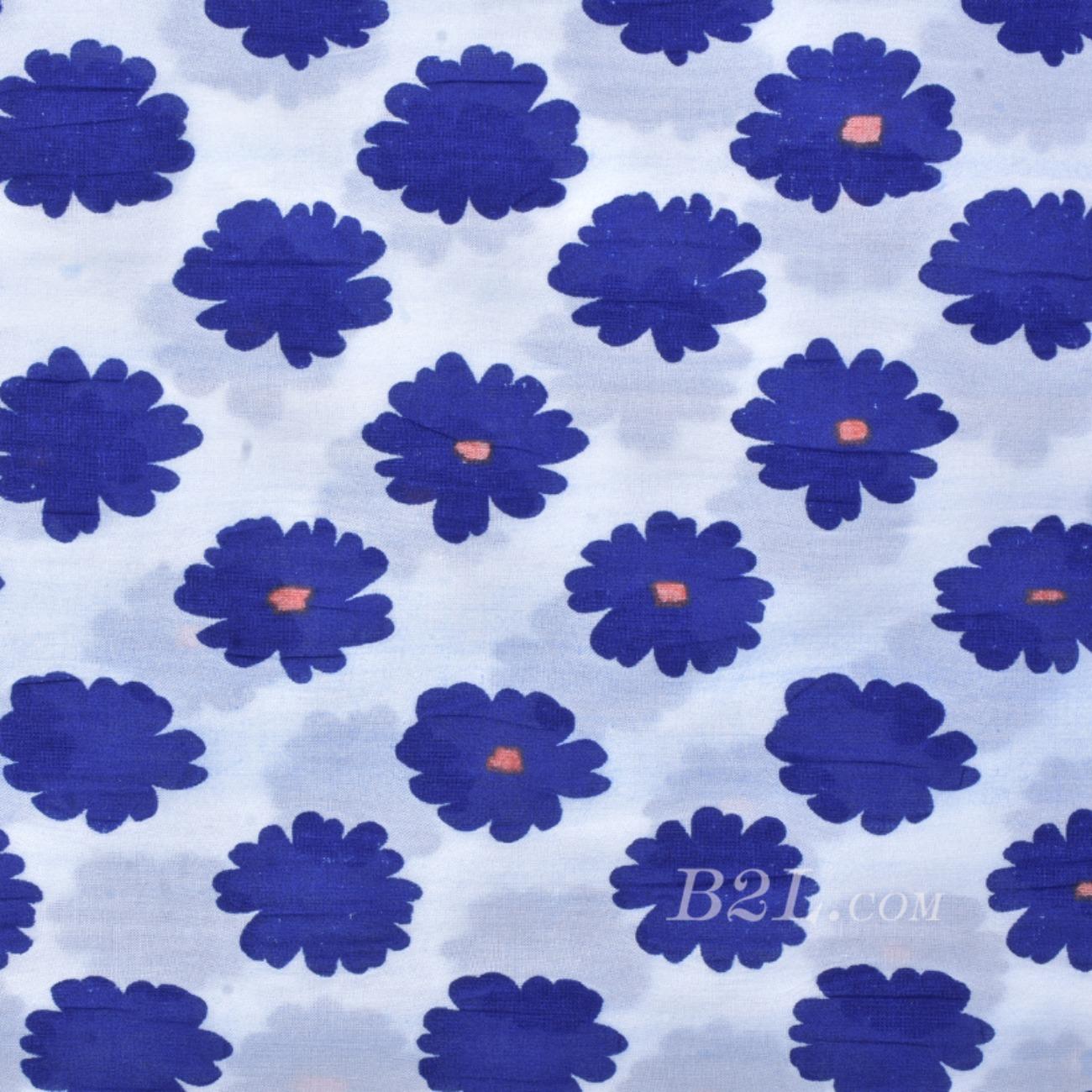 染色梭織印花面料-春夏襯衫連衣裙面料S261