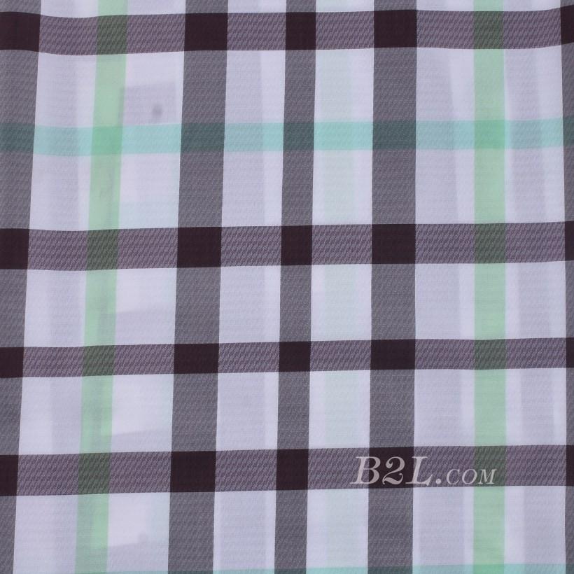 格子 棉感 色织 平纹 外套 衬衫 上衣 70622-137