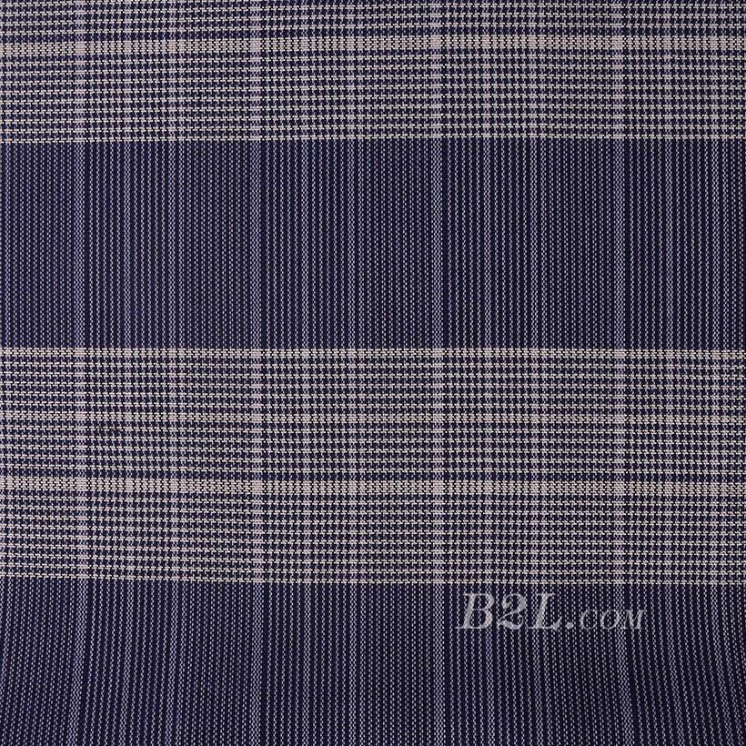 格子 棉感 色织 斜纹 外套 衬衫 上衣 厚 70622-215