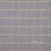 格子 梭织 色织 PU复合 低弹 春秋 大衣 外套 女装 80714-28