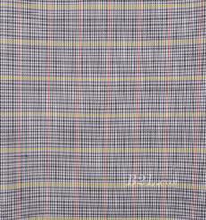 格子 梭織 色織 PU復合 低彈 春秋 大衣 外套 女裝 80714-28