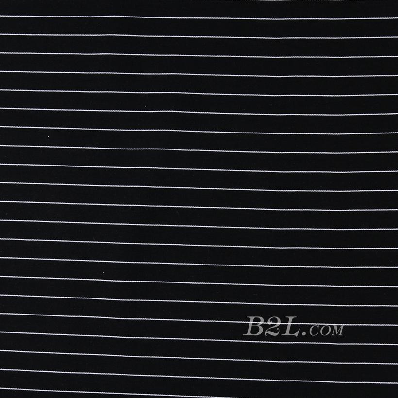 针织染色条纹面料-春秋冬款连衣裙休闲服面料 60311-49