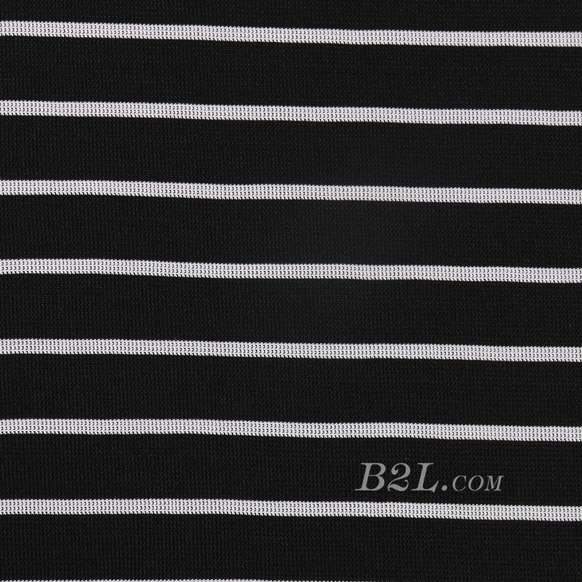 条子 横条 圆机 针织 纬编 T恤 针织衫 连衣裙 棉感弹力 60311-29