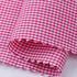 格子 梭织 色织 低弹 衬衫 连衣裙 短裙 棉感 柔软 细腻 现货 全棉 女装  春夏 71028-65