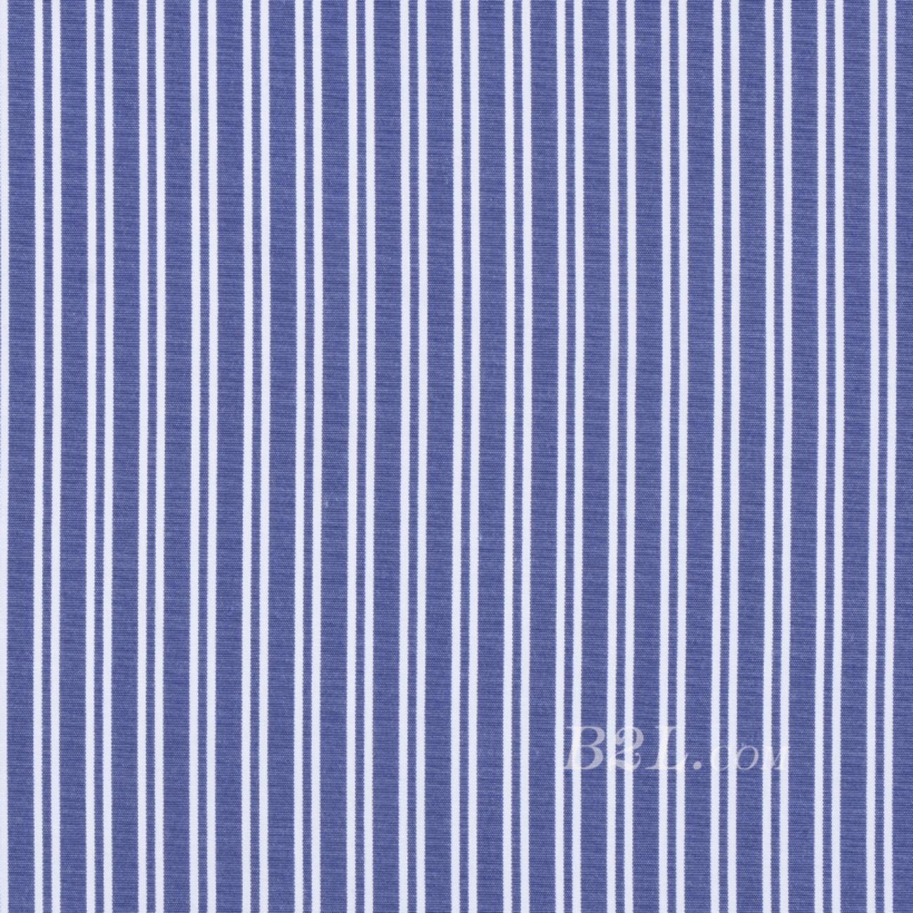 条纹 梭织 薄 低弹 春秋 衬衫 连衣裙 中裙 女装 90410-1