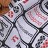 麻将 期货 梭织 印花 连衣裙 衬衫 短裙 薄 女装 春秋 60621-148