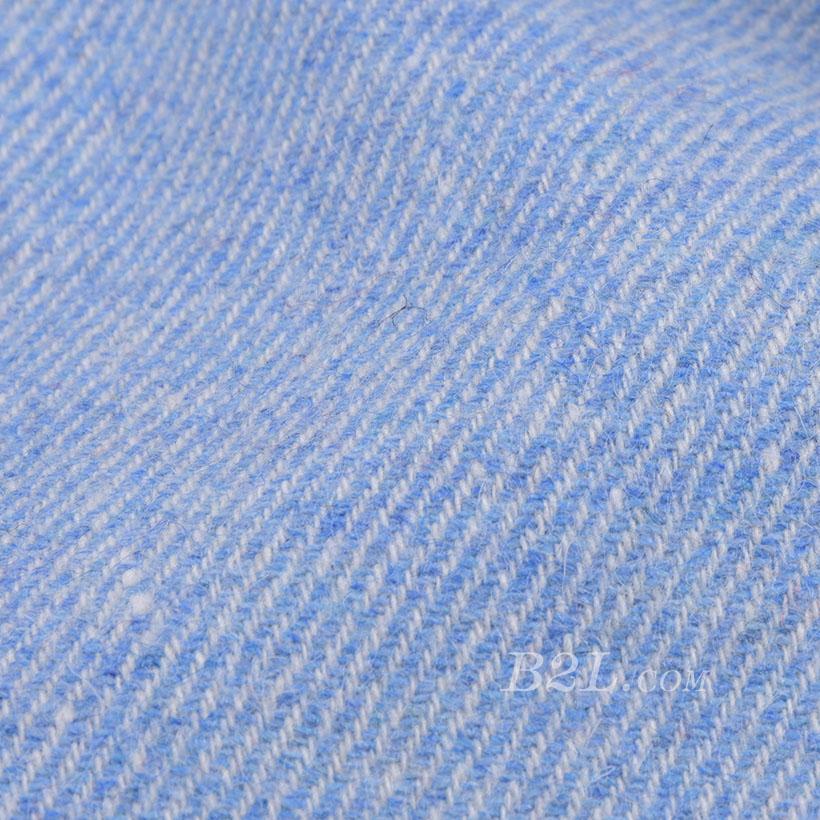 素色 梭织 毛呢 双面呢 厚 羊毛 大衣 低弹 外套 秋冬 男装 80311-15