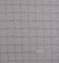 毛纺 格子 梭织 羊毛 低弹 秋冬 大衣 外套 女装 80815-15