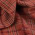 格子 呢料 柔软 羊毛 大衣 外套 女装 70814-3