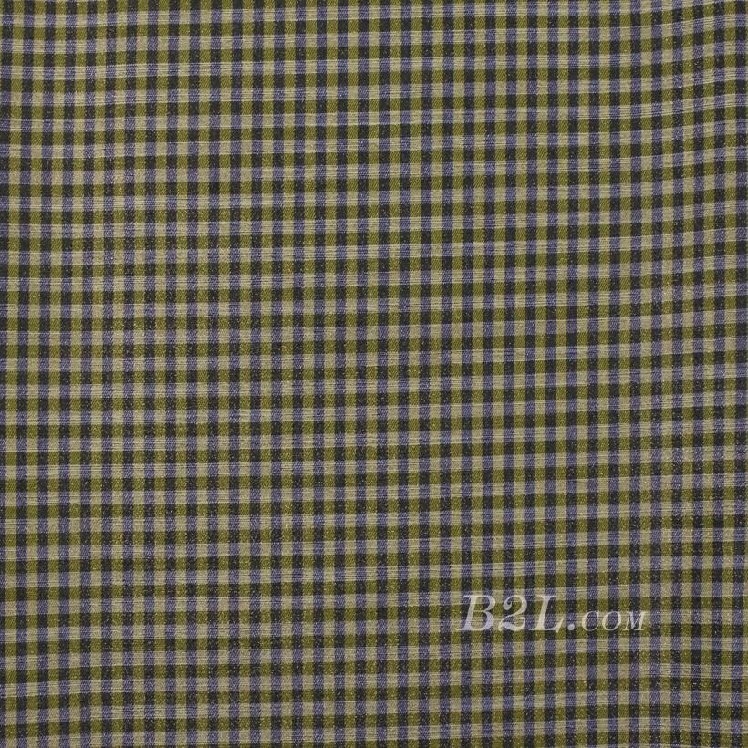格子 棉感 色织 平纹 外套 衬衫 上衣 70622-123