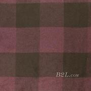 格子 呢料 柔软 羊毛 大衣 外套 女装 70814-7