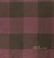 格子 呢料 柔軟 羊毛 大衣 外套 女裝 70814-7