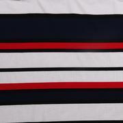 条子 横条 圆机 针织 纬编 T恤 针织衫 连衣裙 棉感 弹力 定位 罗纹 期货 60312-156