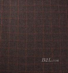 千鸟格 呢料 柔软 羊毛 大衣 外套 女装 期货 70623-17