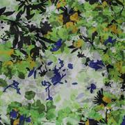 期货 印花 花朵 全涤 无弹 轻薄 连衣裙 衬衫 女装 60804-43