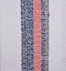 毛纺 粗纺 条纹 提花 色织 无弹 粗糙 香奈儿风 秋冬 大衣 外套 女装 80901-20