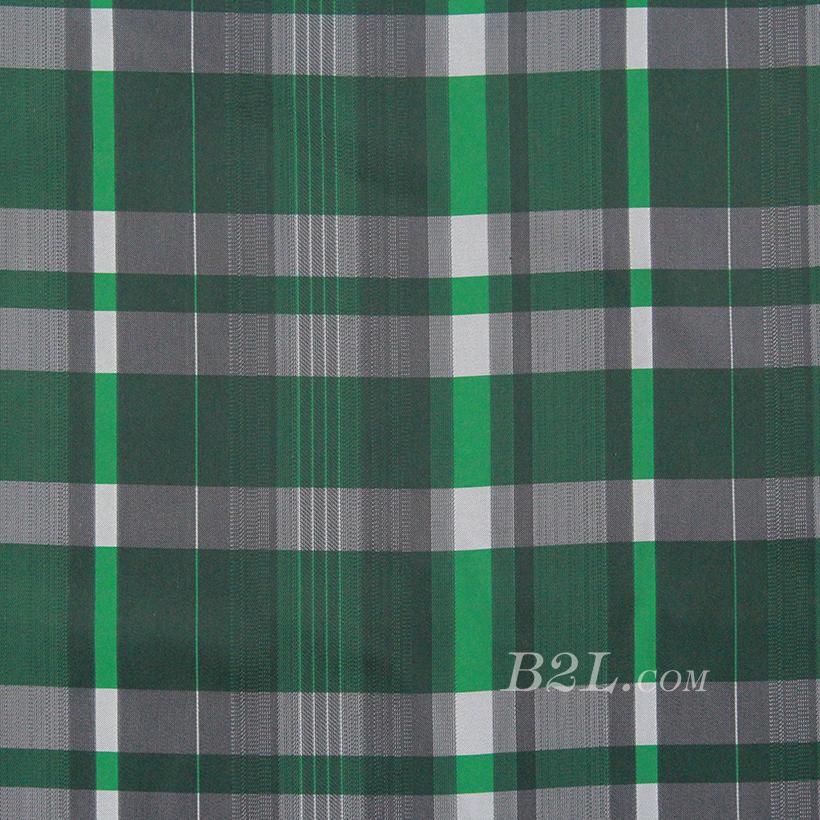 格子 涤棉 低弹 色织 衬衫 外套 70622-105