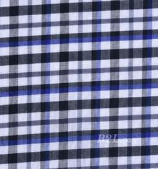 梭织 格子 低弹 色织 衬衫 男装 童装 春夏秋 71112-17