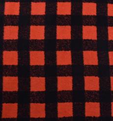 格子 呢料 柔軟 羊毛 大衣 外套 女裝 70629-7