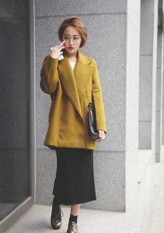 【矮个女生廓形大衣】