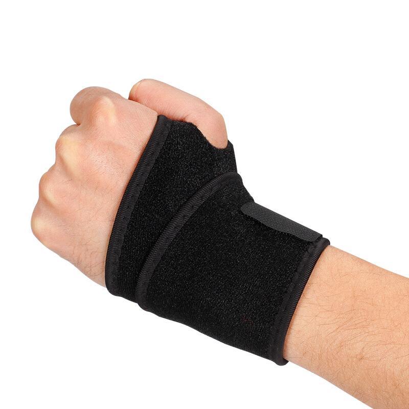 护腕的正确佩戴方法