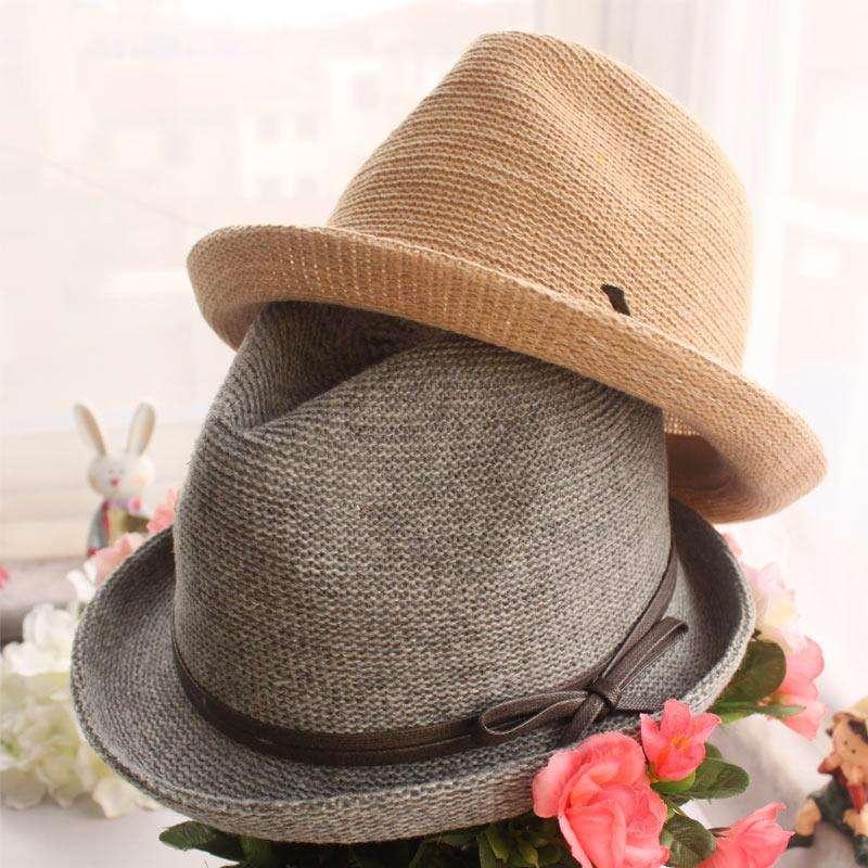怎样选择帽子的款式  双色帽子