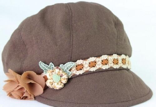 怎样选择帽子款式   女士贝雷帽