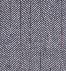 毛纺 条纹 人字纹 梭织 全涤 低弹 秋冬 大衣 外套 80902-2