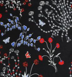 期货 印花 花朵 梭织 连衣裙 衬衫 女装 60804-25