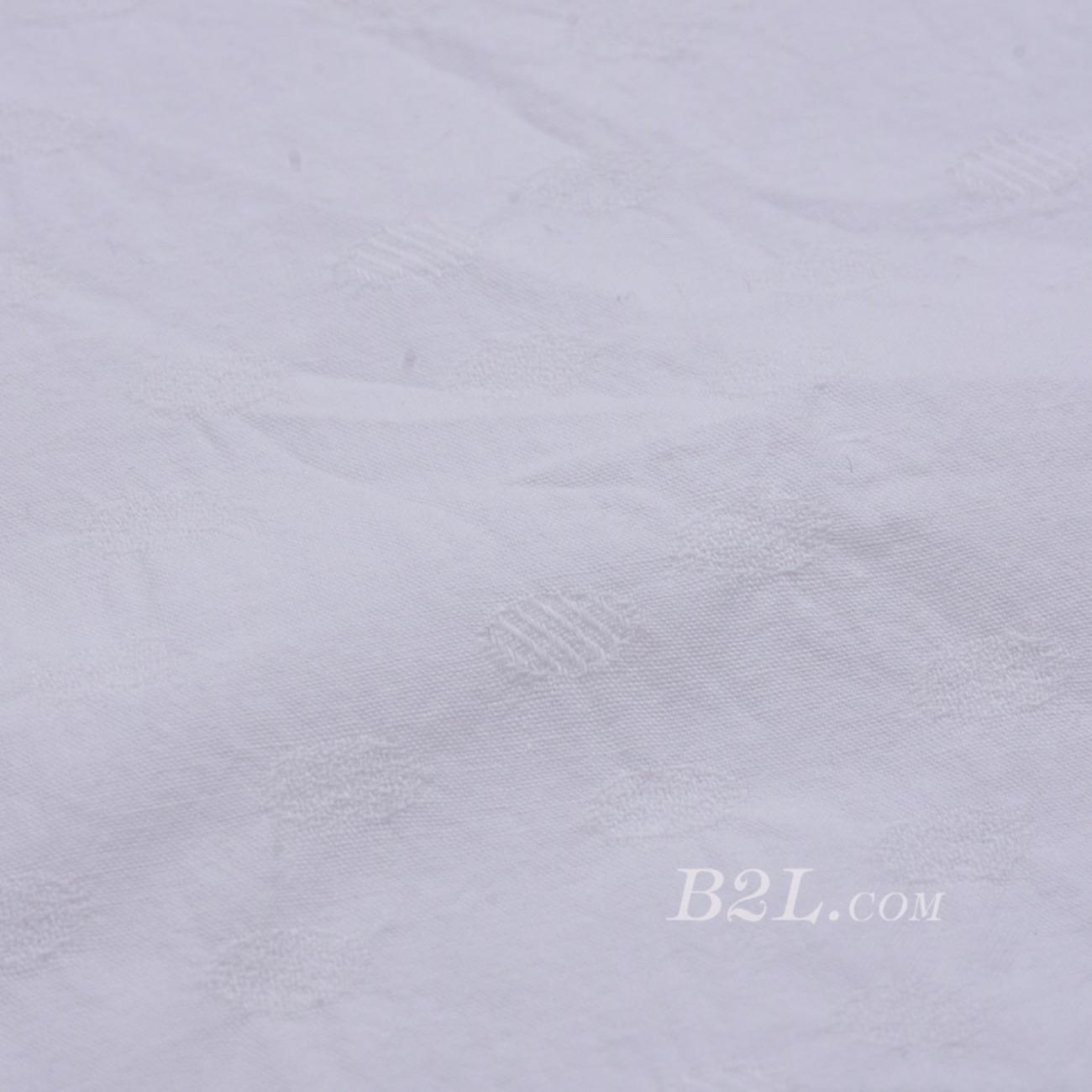 素色 梭織 低彈 染色 小提花 全棉 連衣裙 襯衫 女裝  80604-35