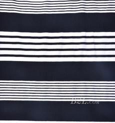 条子 横条 圆机 针织 纬编 T恤 针织衫 连衣裙 棉感 弹力 定位 罗纹 期货 60312-59
