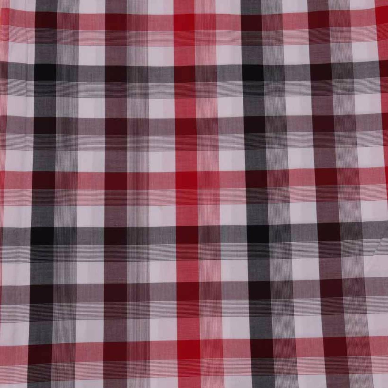 现货格子梭织色织低弹休闲时尚风格衬衫连衣裙 短裙 棉感 60929-59