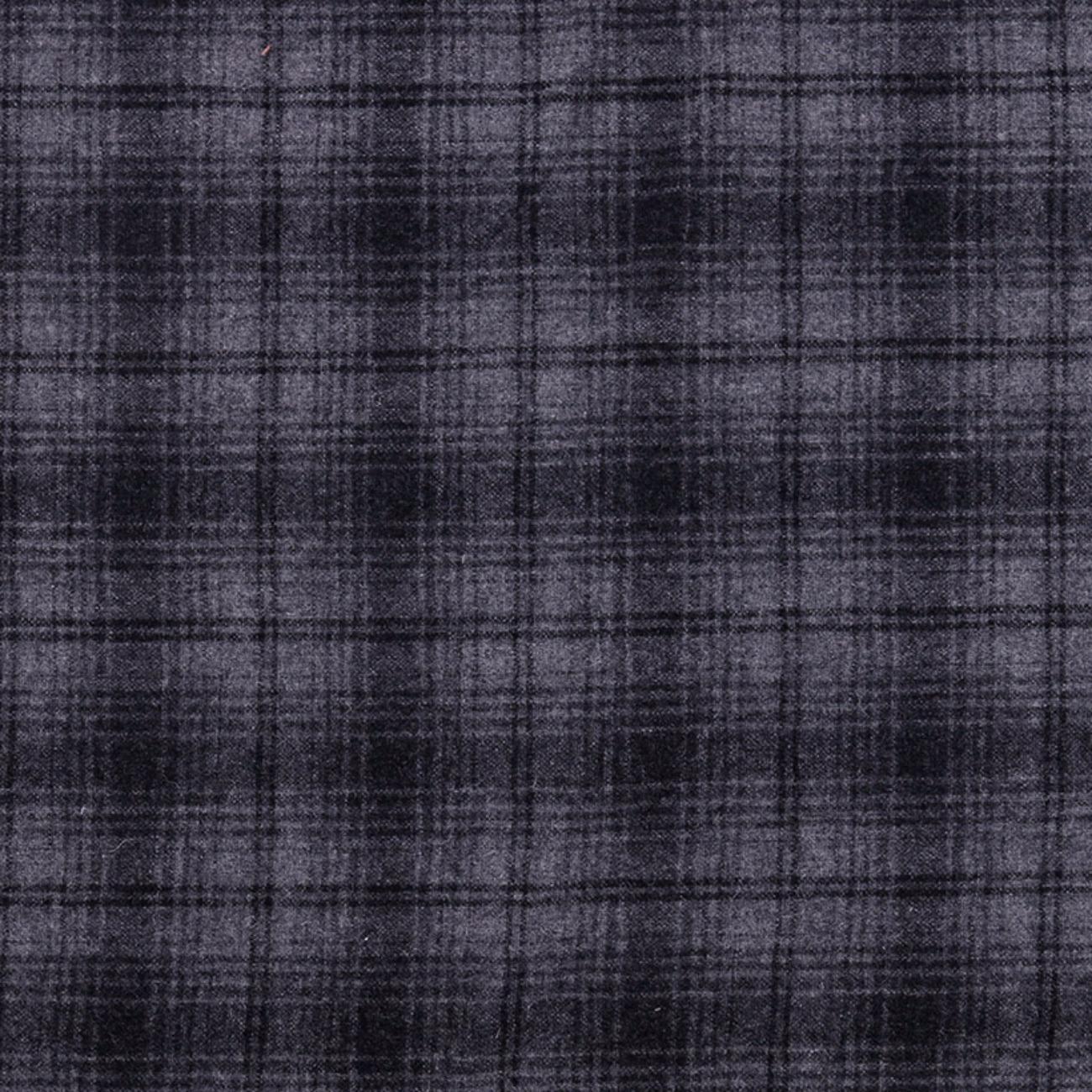 格子 梭织 双面 低弹 大衣 外套 柔软 绒感 男装 女装 毛料 羊毛 羊毛 71019-19
