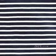 条子 横条 圆机 针织 纬编 T恤 针织衫 连衣裙 棉感 弹力 期货 60312-18