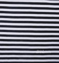 条子 横条 圆机 针织 纬编 棉感 弹力  T恤 针织衫 连衣裙 男装 女装 80131-19