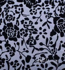 花朵 针织 植绒 单面 低弹 外套 连衣裙 短裙 大衣 60526-9
